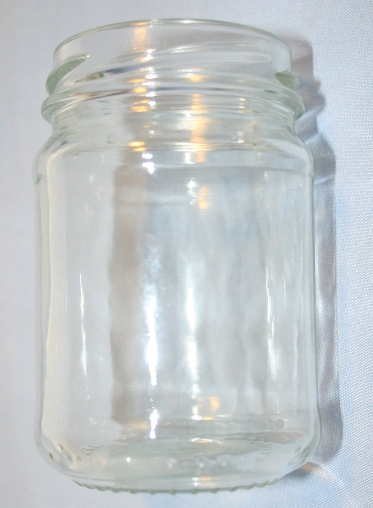 150ml Round Glass Jar (Pack of 35)